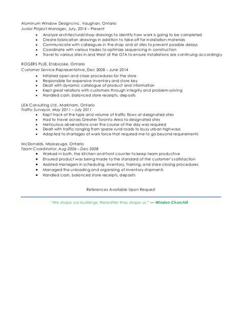 Resume Help Etobicoke benjamin brzozowski resume linkedin