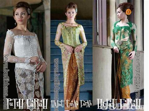 Batik Seragam Nikah kumpulan foto model baju kebaya lamaran trend baju kebaya