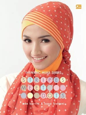 tutorial hijab syar i pdf thematic hijab series stripes meet dots ade aprilia