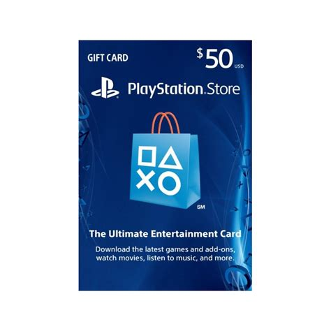 Gift Card Playstation Store - 50 us region playstation store gift card ps3 ps4 ps vita