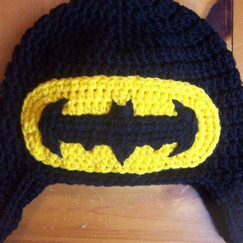 crochet pattern batman logo 1000 ideas about batman crochet hat on pinterest