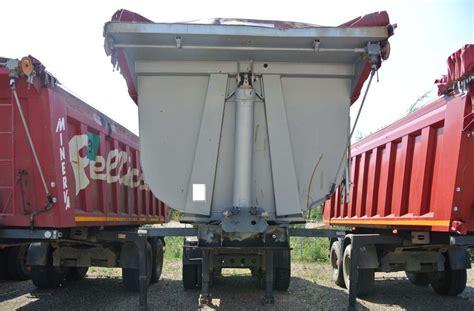 vasche ribaltabili usate semirimorchio vasca ribaltabile mezzo d opera minerva usata