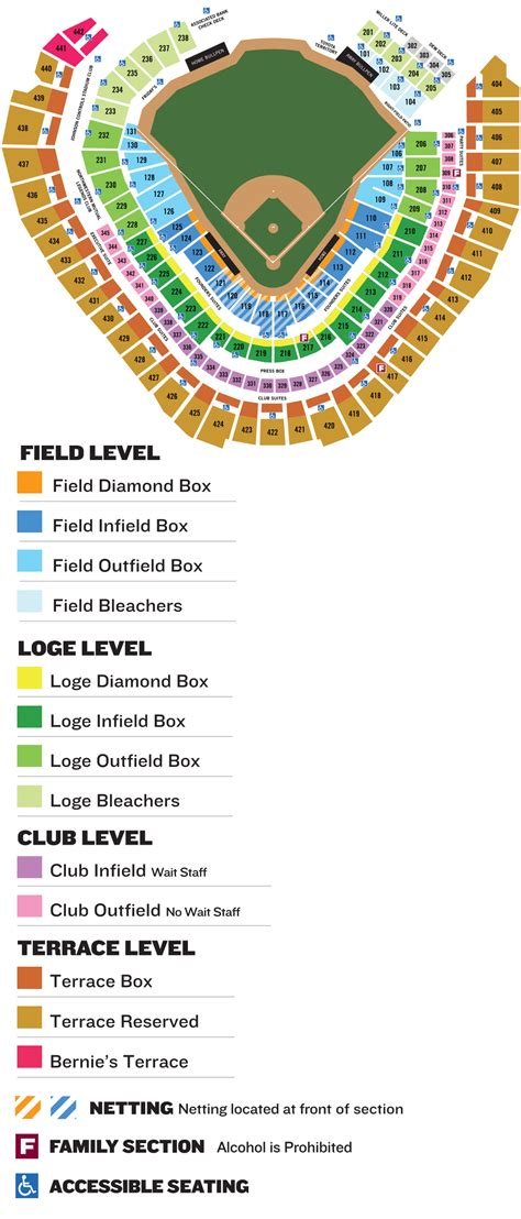 miller park seating map brewers seating chart milwaukee brewers seating chart