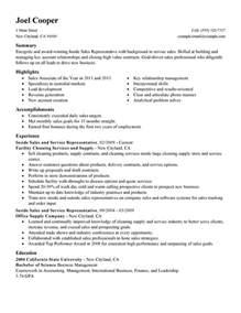 Resume Sample Inside Sales by Inside Sales Resume Sample My Perfect Resume