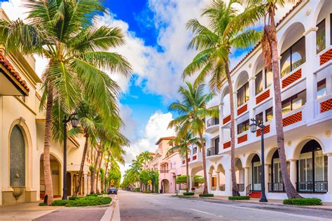 the most beatiful palm avenue south florida s lincoln road and worth avenue among world