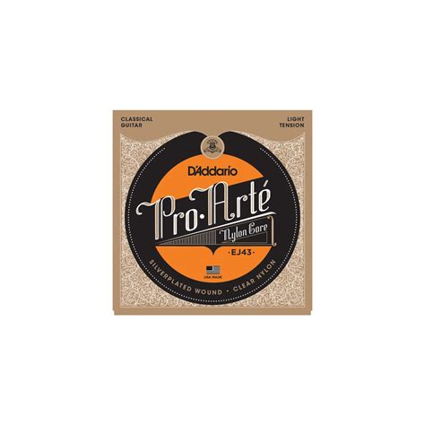 D Addario Pro Arte Classical Guitar Strings - d addario d addario ej43 pro arte classical low tension
