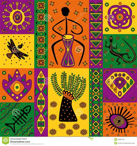 african pattern ai african pattern stock vector illustration of geometric