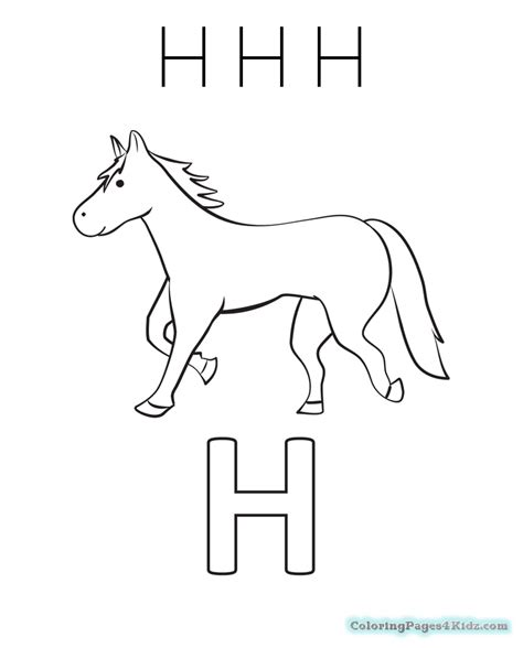 letter h coloring pages for toddlers my letter h coloring pages coloring pages for kids