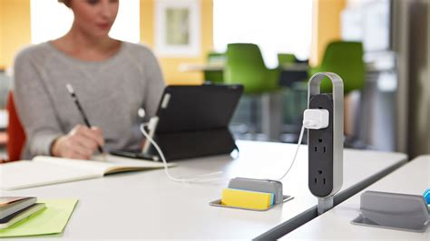 steelcase bringing power distribution to office spaces