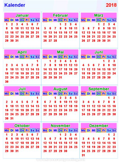 Calendar 2018 Uq Kalender 2018 Korea 28 Images Kalender2018 Horizontal