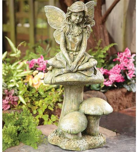 fairy garden statues 218 best garden statues images on pinterest garden