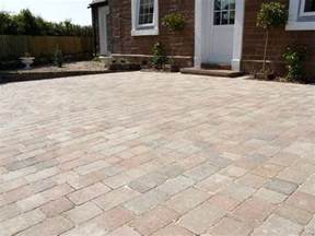 tumbled block paving 2 sizes courtyard first quality