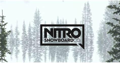 tavole da snowboard nitro nuove tavole snowboard nitro 2018