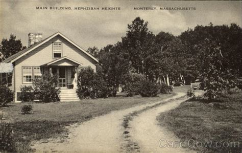 Hephzibah Post Office by Building Hephzibah Heights Monterey Ma