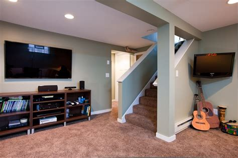 Partially Finished Basement Ideas Basement Spaces For The Home