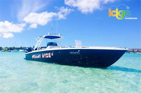 bateau mouche guadeloupe miami vice saint fran 231 ois petite terre en bateau rapide