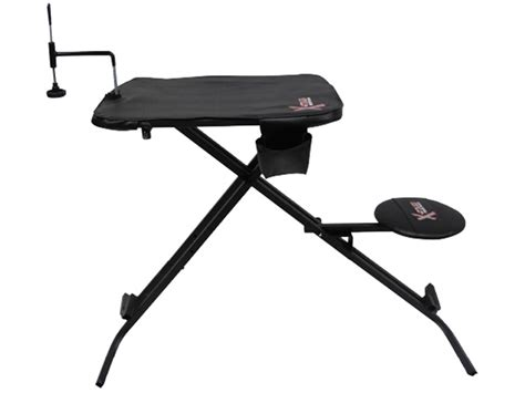portable shooting bench reviews x stands x ecutor portable shooting bench steel mpn xasb24