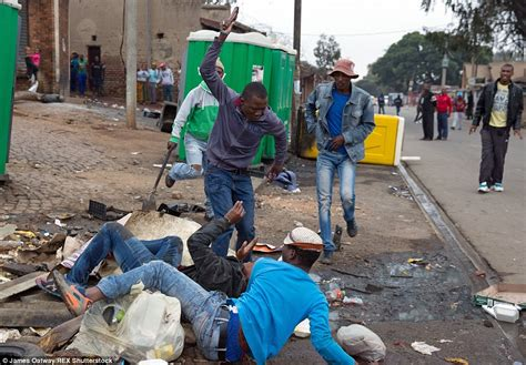 Wedding Killed In South Africa by Last Moments Of Emmanuel Sithole Bleeding To In