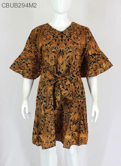Gamis Motif Pita 4 dress batik lonceng pita dress murah batikunik