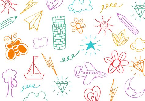 how to make doodle vector free stuff doodle vector free vector