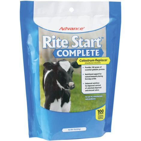 Advance Rite Start Complete Calf Colostrum Replacer-Single ... Goose Hunting Rifle