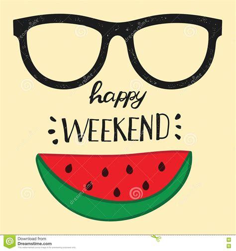 Social Media Poster 4 T Shirt happy weekend positive handwritten design cards t shirt