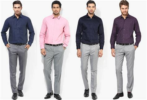 what colour goes with grey clothes s guide to pant shirt combination looksgud in