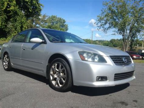 2005 nissan altima vin number find used 2005 nissan altima se r sedan 4 door 3 5l in