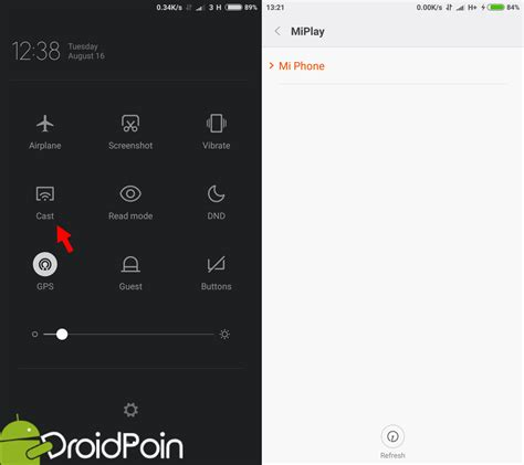 android cast screen cara menilkan gambar layar android ke pc dengan wifi droidpoin
