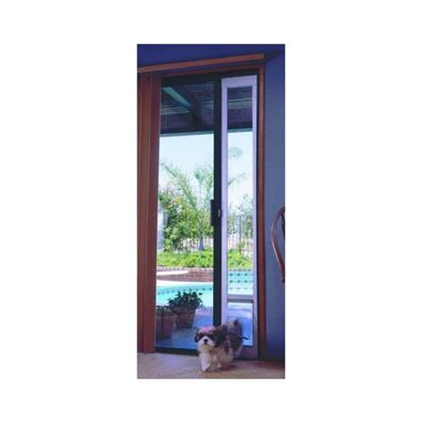 Vinyl Patio Pet Door Dual Pane Vinyl Patio Pet Doors Patio Design Ideas