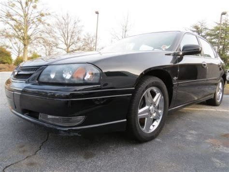 2004 impala ss specs 2004 chevrolet impala ss supercharged indianapolis motor