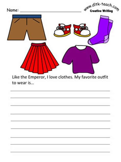 My Favorite Clothes Essay by The Emperor S New Clothes Writing Prompts