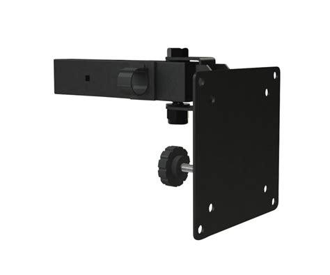 Dual Monitor Ceiling Mount by Vmp Lcd Cm2b Dual Lcd Monitor Ceiling Mount Black