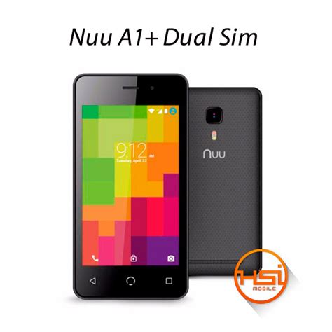 nuu a1 plus black nuu a1 dual sim 8gb hsi mobile