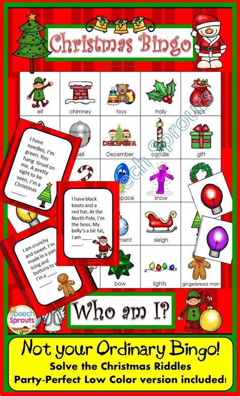 christmas games for the classroom 215 best images about speech sprouts teachers pay teachers store on comprehension
