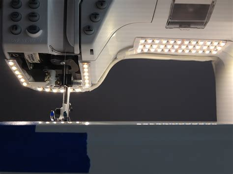 white led sewing machine strip light led strip lights variable color temperature flexible led