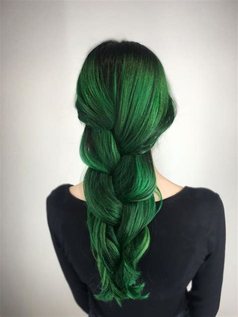 emerald hair color 25 best ideas about emerald green hair on