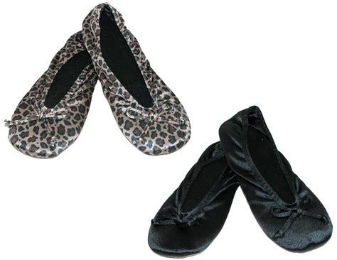 isotoner satin ballerina slippers womens satin classic ballerina slippers pack of 2 by