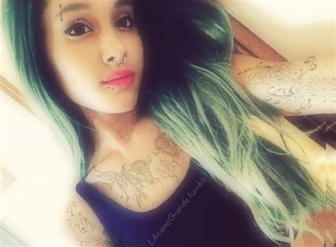 ariana tattoo see what your fave look like covered in tattoos