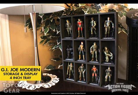 8 figure display gear figure archival trays kickstarter nearly
