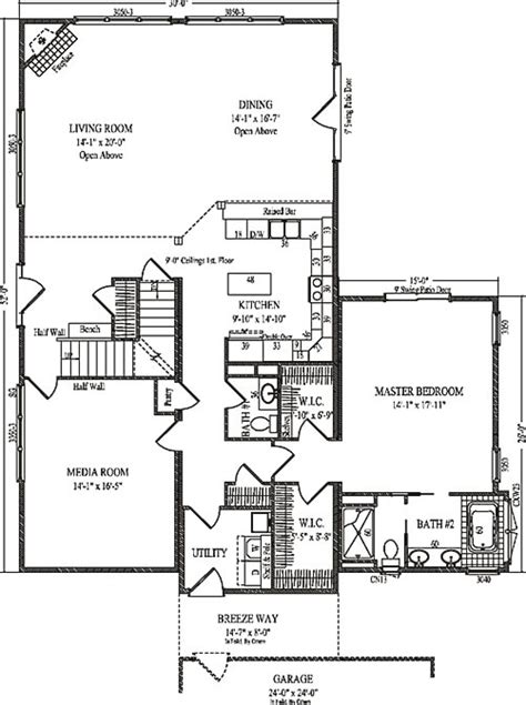 carrington floor plan carrington by wardcraft homes two story floorplan