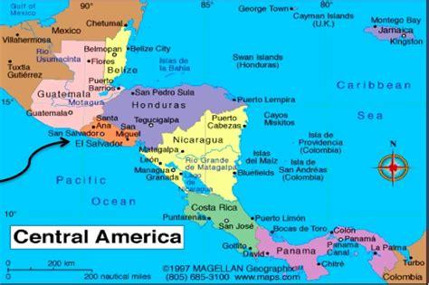 america map el salvador may 2012 basic health international