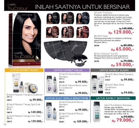 Hairx Cape Cape Unk Pewarnaan Rambut Katalog Oriflame Mei 2016 Of The Year 2016 Indonesia