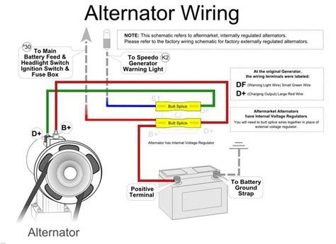 wiring diagram of automotive voltage regulator wiring