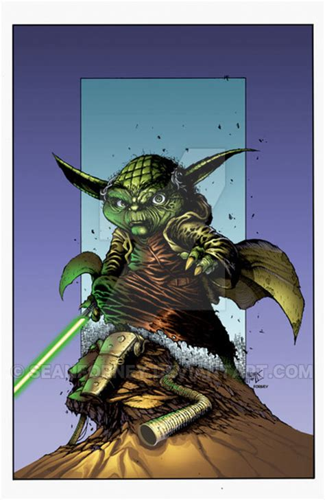 what color is yoda yoda colors by seanforney on deviantart