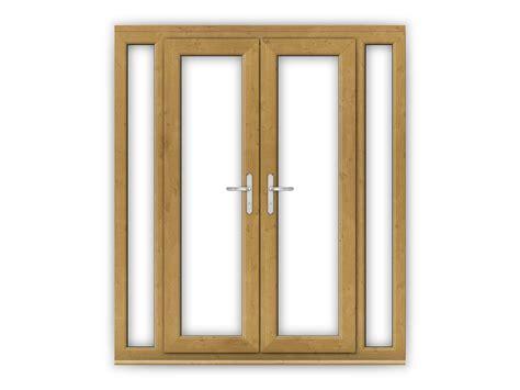 4ft upvc doors 4ft oak upvc doors with narrow side panels