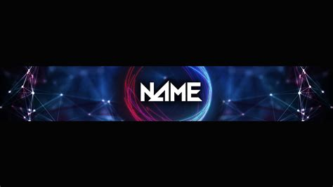 Futuristic Youtube Banner Template Psd New 2016 Youtube Within Youtube Gaming Banner Gaming Banner Template