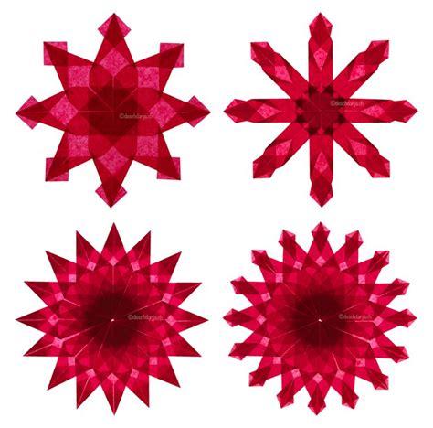 kerzenhalter in sternform falten 264 best images about origami estrellas on