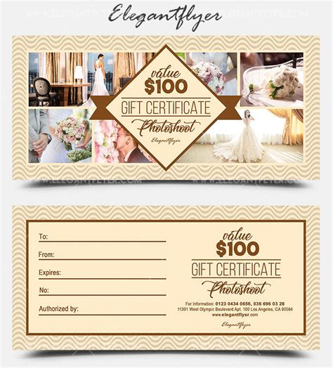 photoshoot gift certificate template gift certificate as a mandatory business attribute 20