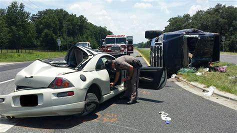 car crash ocala fl ocala post 2 vehicle crash with serious injuries